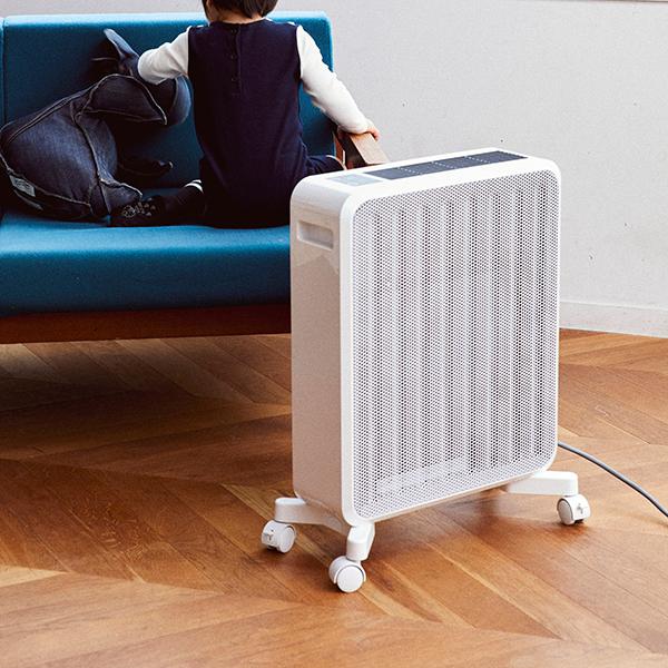 【乾燥しない暖房】トリプル暖流のケノンヒーター インプレ 遠赤外線ガラスセラミッ