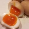 【最強とろり!!】家系ラーメンの半熟味玉・煮卵を自作するレシピ【簡単・美味い】