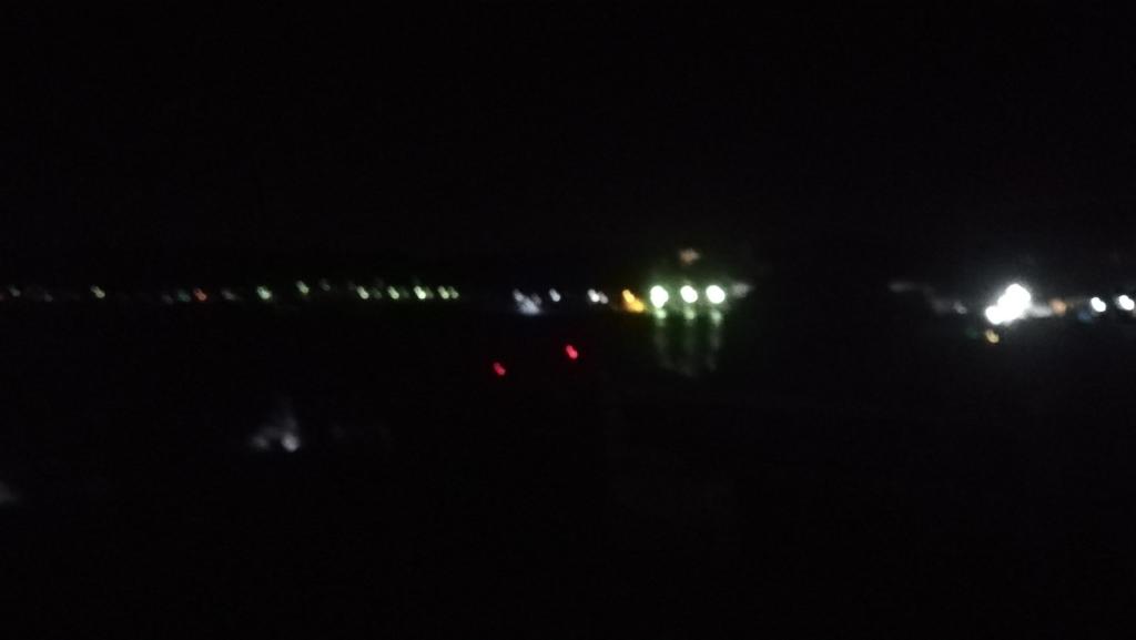 内浦湾の夜釣り