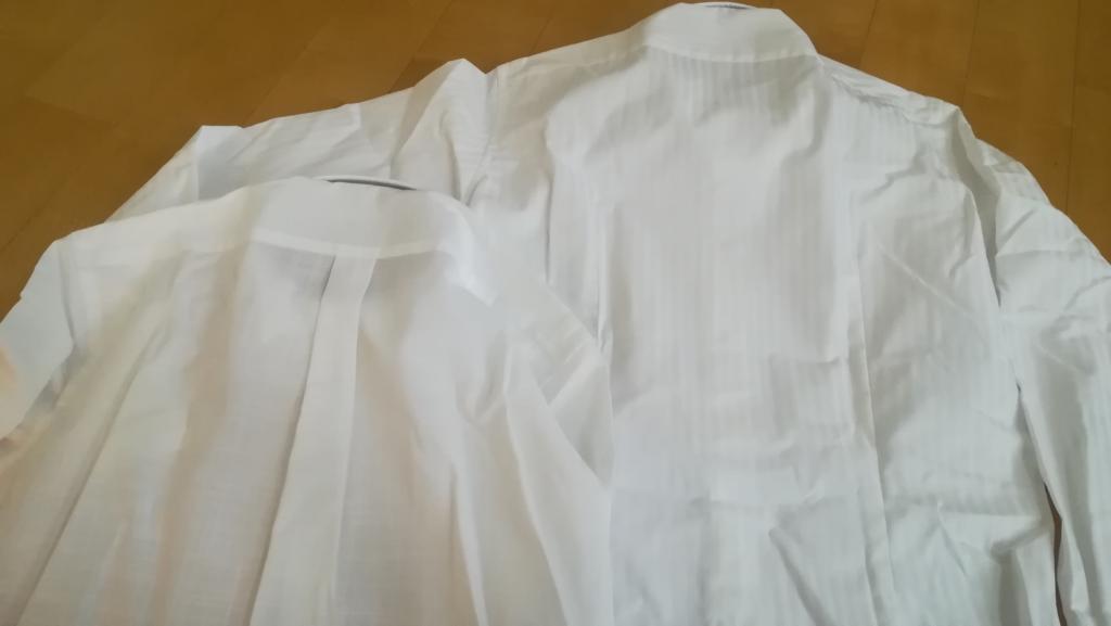オーダーシャツのダーツの入り方のイメージ画像