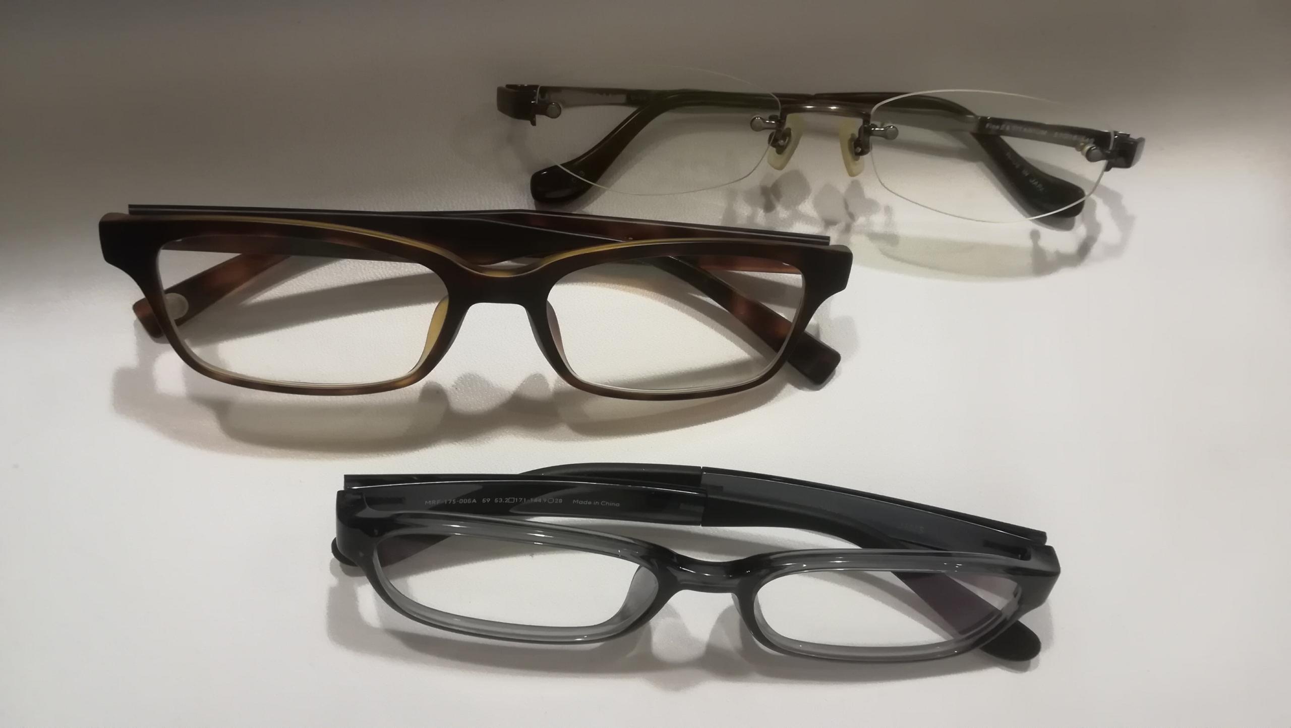 【デスクワークに必須のJINS・PC】度入りメガネを自宅で注文 バーチャル試着が面白い