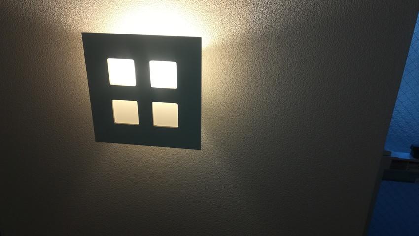 階段踊り場の照明