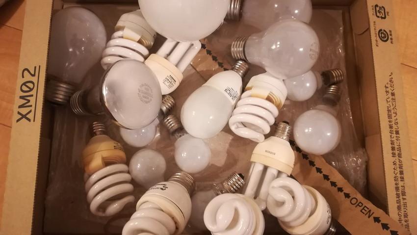 自宅の照明の数々
