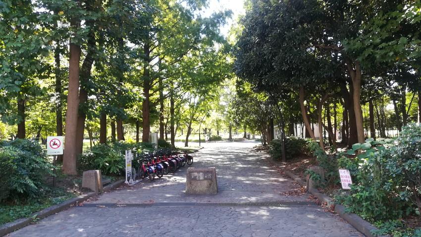 猿島恩賜公園の入り口