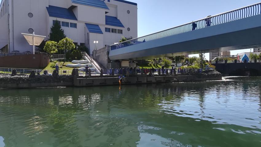 クローバー橋下の画像