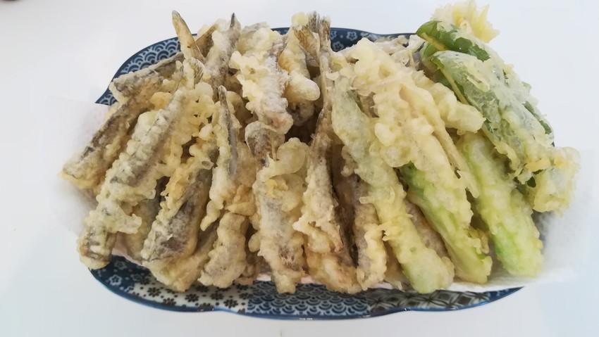 ハゼの天ぷら盛り合わせ