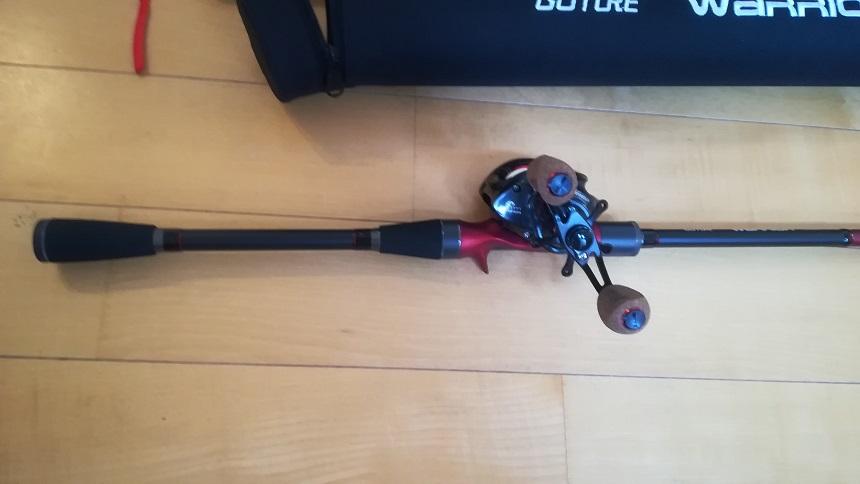ゴチュール/Warriorの格安パックロッドをタコ釣りに導入
