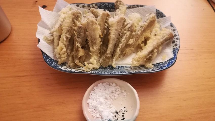 ハゼの天ぷらの簡単料理手順|下処理と捌き方、コツを解説
